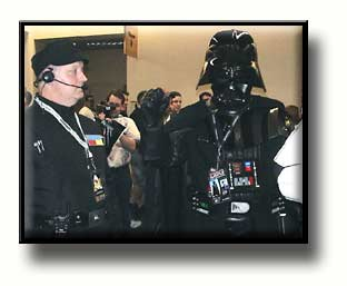 Darth Vader with Imperial Crew