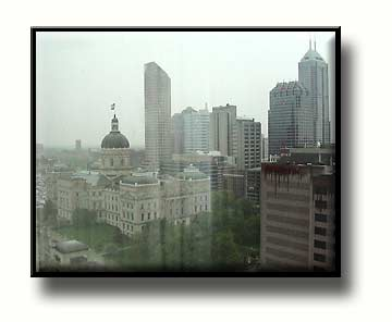 Drizzly Day in Indianapolis