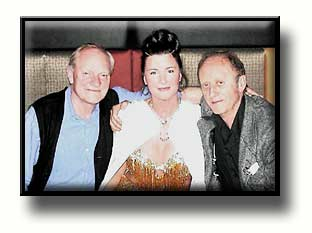 Julian Glover, MaryCheetah and Ken Colley